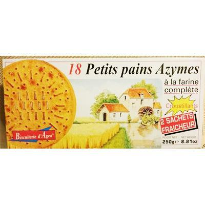 18 petits pains azymes biscuiterie d agen 250 g