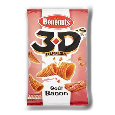 3 d s bugles bacon 150g