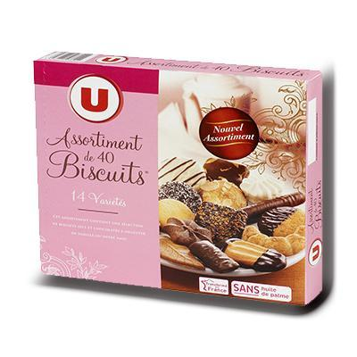 Assortiment biscuits patissiers u 250 g
