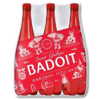 Badoit rouge pet 6x1l