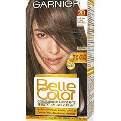 Belle color chatain cl 20