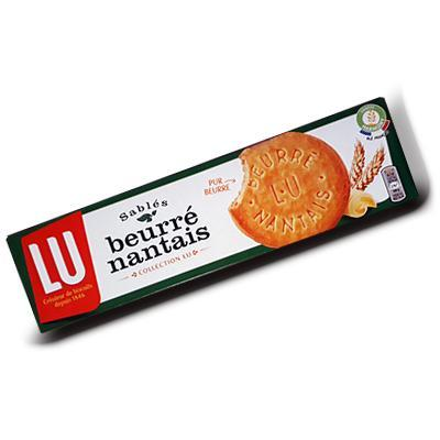 Beurre nantais lu 130 g 20 biscuits