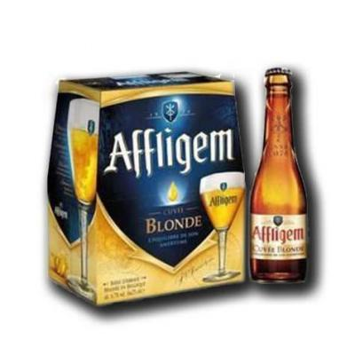 Biere blonde 6 7 vol affligem 6x 25 cl