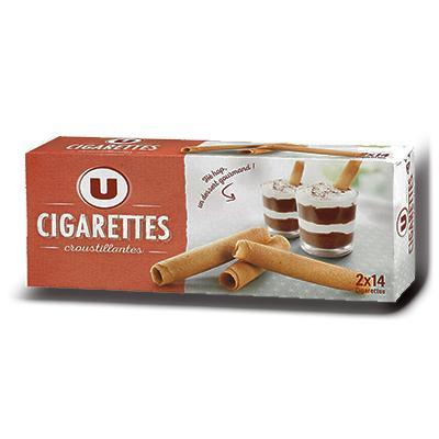 Biscuits cigarettes u 200g