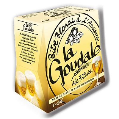 Blonde la goudale 6x25cl