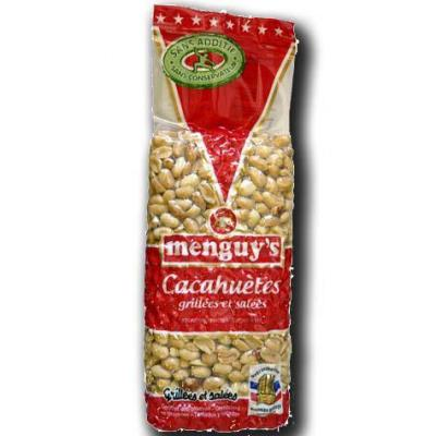 Cacahuetes grillees et salees menguy s 390 g