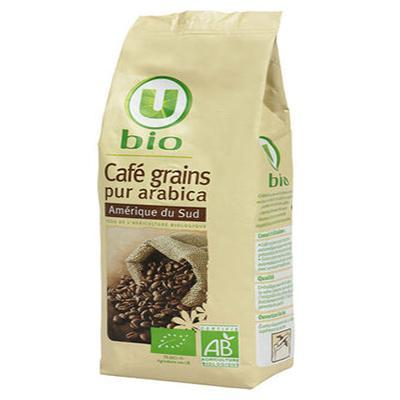 Cafe amerique du sud en grains u bio 250 g