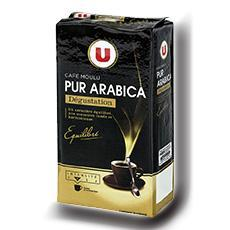 Cafe arabica moulu degustation u 250 g