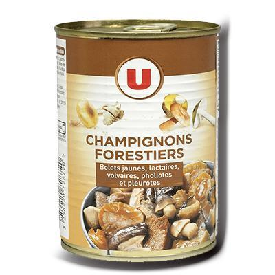 Champignons forestiers u 225 g