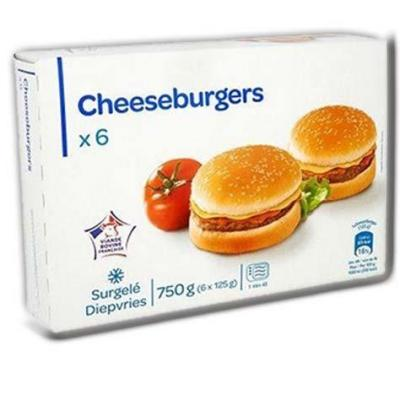 Cheeseburgers 6x125g ppx
