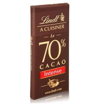 Chocolat a cuisiner 70 cacao lindt 180 g