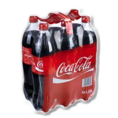 Coca cola pack 6x1 25l pet