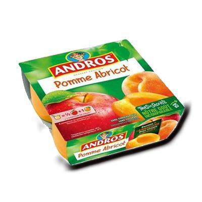Compote pomme abricot andros 400g