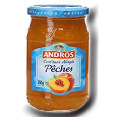 Confiture allegee peches andros 350 g