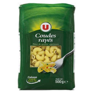 Coudes rayes qualite superieure u 500 g