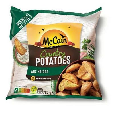 Country potatoes aux herbes mccain 700 g