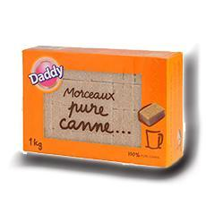 Daddy morceaux pure canne 1 kg