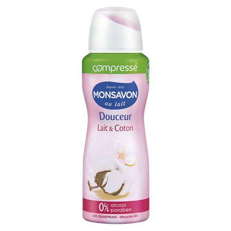 Deodorant coton compr monsavon 100ml