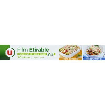 Film etirable 2en1 u 20m