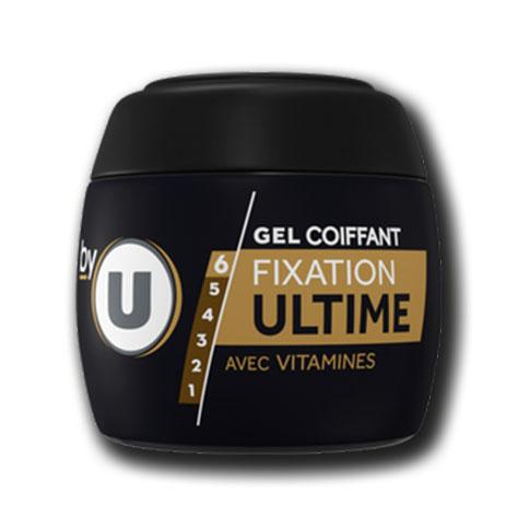 Gel fixation ultime by u p250ml