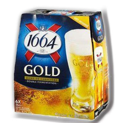Gold biere blonde 6x25cl