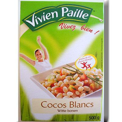 Haricot coco v paille 500g
