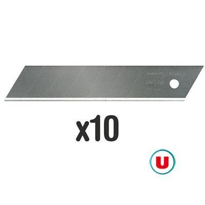 Lame cutter u x10 18mm