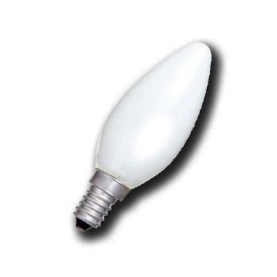 Led flamme u 25w e14 opaque ch