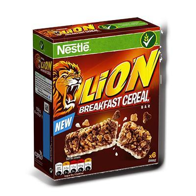 Lion breakfast cereal bar nestle