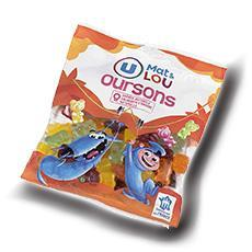 Oursons gelifies u mat lou 250 g