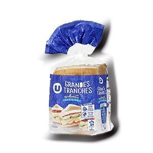 Pain de mie sandwich nature u 550 g