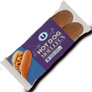 Pain special hot dog u x4 soit 250 g