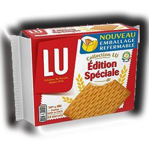 Petits beurre edition speciale lu 150 g