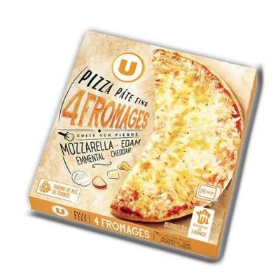 Pizza 4 fromages u 350g