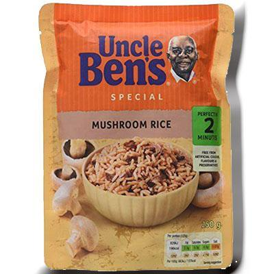 Special mushroom rice uncle ben s 250 g