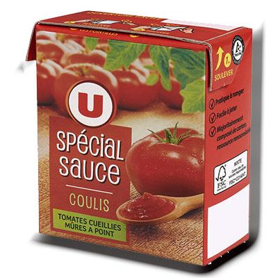 Special sauce coulis u 390 g