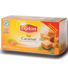 The au caramel lipton x25