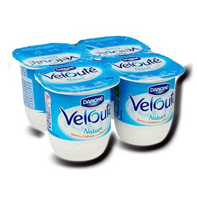 Veloute nature 4x125g