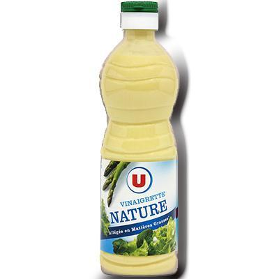 Vinaigrette nature allegees en matieres grasses u 50 cl